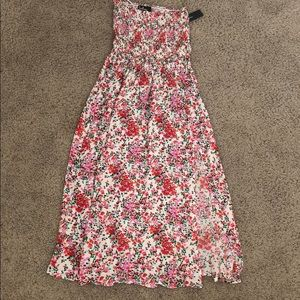 Lulus midi dress, never worn with tags